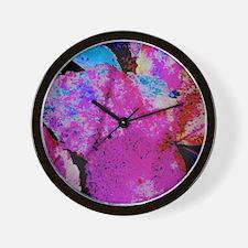 A Leaf Of Many Colors Wall Clock