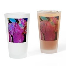 A Leaf Of Many Colors Drinking Glass
