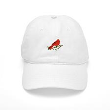 Cardinal Bird Baseball Baseball Cap