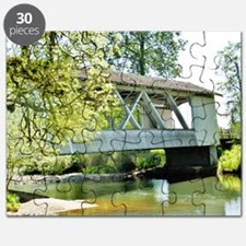 LARWOOD COVERED BRIDGE Puzzle