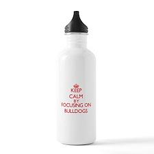 Bulldogs Water Bottle