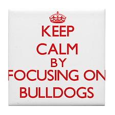 Bulldogs Tile Coaster