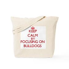 Bulldogs Tote Bag