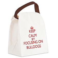 Bulldogs Canvas Lunch Bag