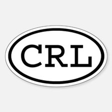 CRL Oval Oval Decal