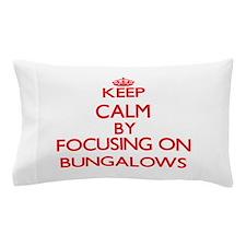 Bungalows Pillow Case