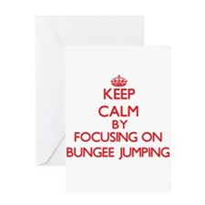 Bungee Jumping Greeting Cards