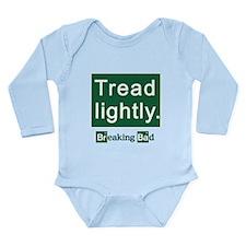 Tread Lightly Breaking Long Sleeve Infant Bodysuit