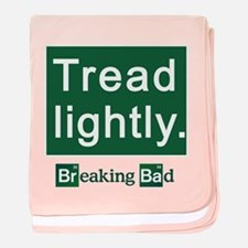 Tread Lightly Breaking Bad baby blanket