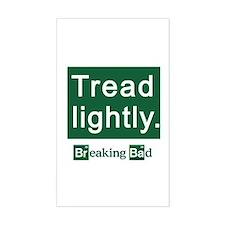 Tread Lightly Breaking Bad Decal