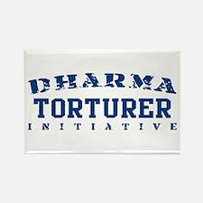 Torturer - Dharma Initiative Rectangle Magnet
