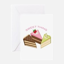 Sweet Thing Greeting Cards