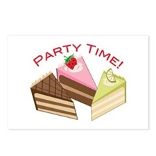 Party Time Postcards (Package of 8)