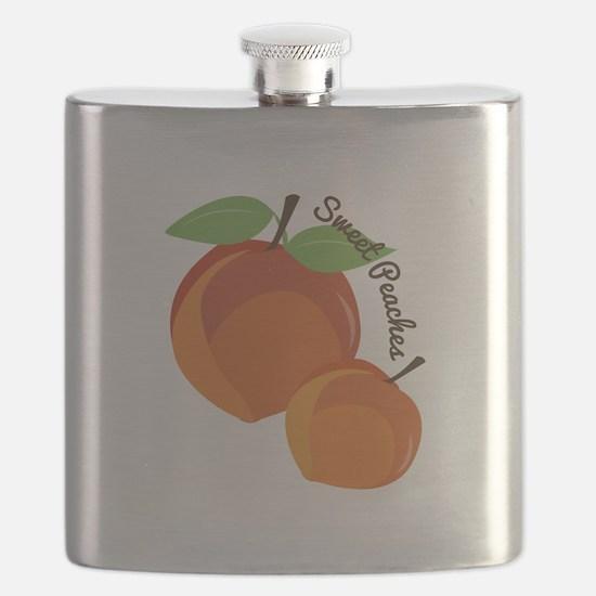 Sweet Peaches Flask