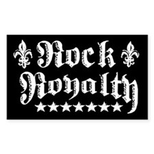 """""""Rock Royalty"""" Rectangle Decal"""