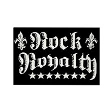 """Rock Royalty"" Rectangle Magnet"
