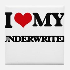 I love my Underwriter Tile Coaster