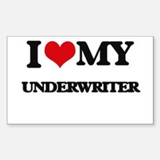 I love my Underwriter Decal