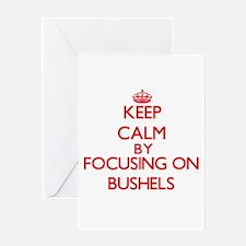 Bushels Greeting Cards