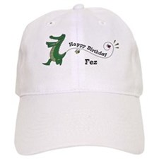 Happy Birthday Fez (gator) Baseball Cap