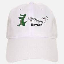 Happy Birthday Hayden (gator) Baseball Baseball Cap