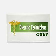 Dietetic Technicians Care Rectangle Magnet (100 pa