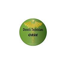 Dietetic Technicians Care Mini Button (10 pack)