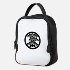Three-tiered pine R in circle Neoprene Lunch Bag