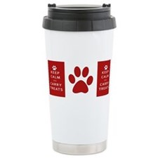 Cute Dog training Travel Mug
