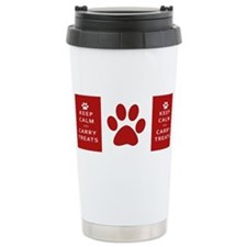 Unique Keep calm carry on Travel Mug