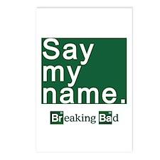 SAY MY NAME Breaking Bad Postcards (Package of 8)