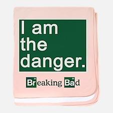 BREAKING BAD: I Am the Danger baby blanket