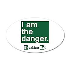 BREAKING BAD: I Am the Dange Wall Decal