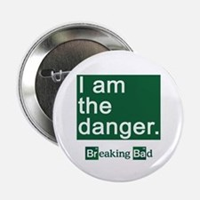 """BREAKING BAD: I Am the Danger 2.25"""" Button"""