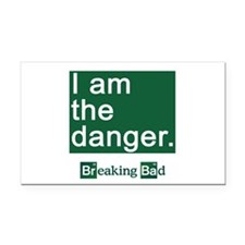 BREAKING BAD: I Am the Danger Rectangle Car Magnet