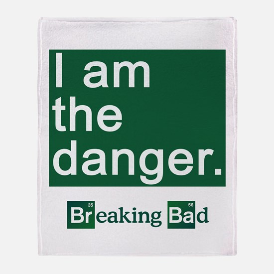 BREAKING BAD: I Am the Danger Throw Blanket