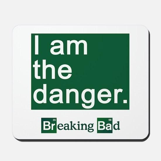 BREAKING BAD: I Am the Danger Mousepad