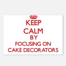 Cake Decorators Postcards (Package of 8)