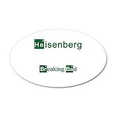 Breaking Bad HEISENBERG Wall Decal
