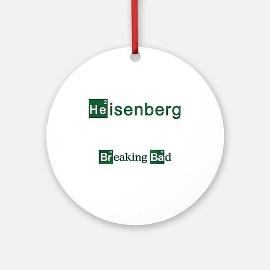 Breaking Bad HEISENBERG Ornament (Round)