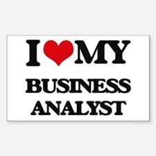 I love my Business Analyst Decal
