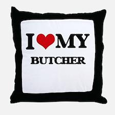 I love my Butcher Throw Pillow