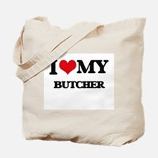 I love my Butcher Tote Bag