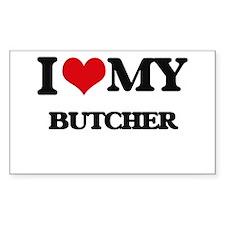 I love my Butcher Decal
