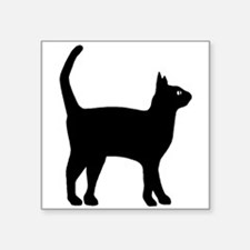 Cat Silhouette Sticker