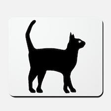 Cat Silhouette Mousepad
