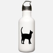 Cat Silhouette Water Bottle