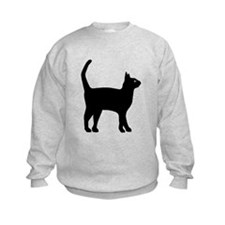 Cat Silhouette Sweatshirt