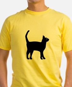 Cat Silhouette T-Shirt
