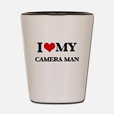 I love my Camera Man Shot Glass